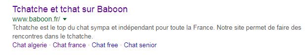 baboon sur google