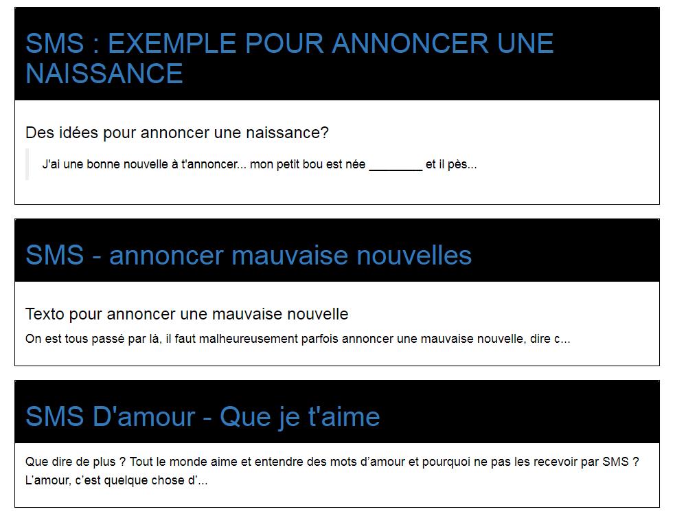 Déclaration Damour Par Sms
